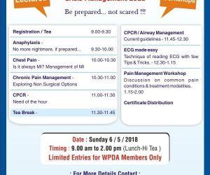 Emergency Medicine Update Crisis Management 2018