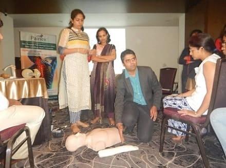 Painex team taking pain management workshops
